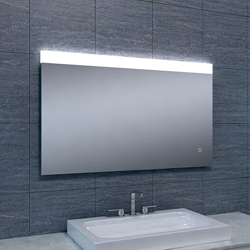 Badkamerspiegel Single LED Dimbaar 1000x600