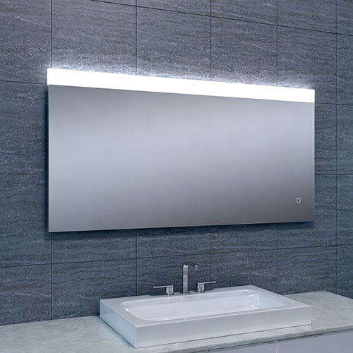 Badkamerspiegel Single LED Dimbaar 1200x600
