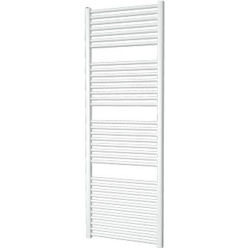 Designradiator Aloni 120x60cm 580 Watt Glans Wit Zijaansluiting