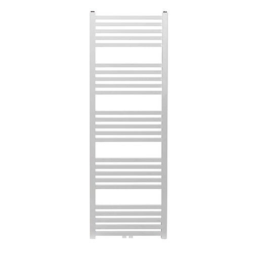 Designradiator Tower 119x60cm 732 Watt Glans Wit Middenonderaansluiting