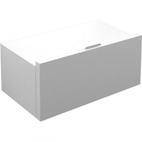 Witte Hoogglans Ladenkast.Ladekast Clou Match Me Hangend 70x42x32cm Mdf Hoogglans Wit Douche