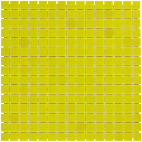 Mozaiektegel Amsterdam Yellow Soft Grain Glass 322x322