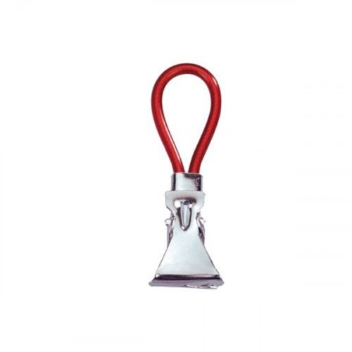 Ophangclip Wenko 5.3x1x1.7cm Rubber Rood