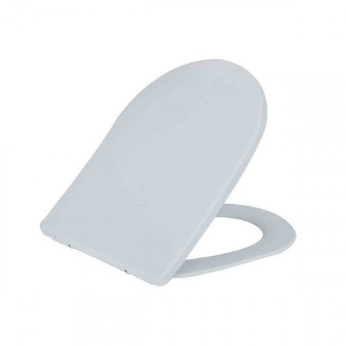 Toiletbril Wiesbaden Shade Slim Softclose Toiletzitting One Touch Mat Wit