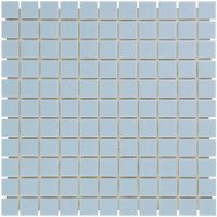 Mozaiektegel Barcelona Extra Light Blue Glossy Porcelain 303x303