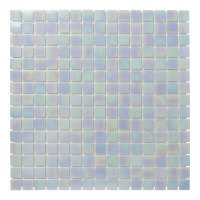 Mozaiektegel Amsterdam Light Blue Pearl Glass 322x322