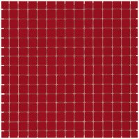 Mozaiektegel Amsterdam Crimson Red – Silk Silk Glass 322x322