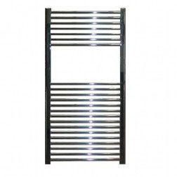 Designradiator Aloni 170x60cm 750 Watt Glans Chroom Zijaansluiting