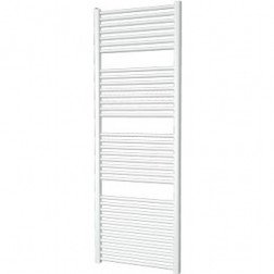 Designradiator Aloni 120x50cm 500 Watt Glans Wit Zijaansluiting