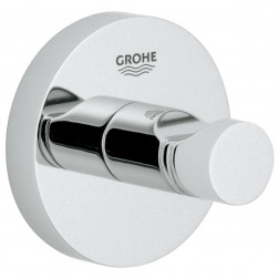 Handdoekhaak Grohe Essentials Rond Chroom 1