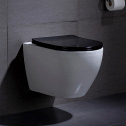 Toiletpot Beauti Flatline Zwart