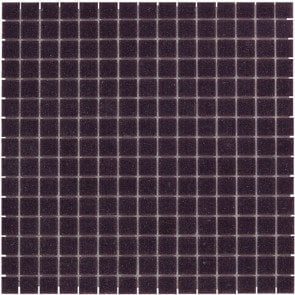 Mozaiektegel Amsterdam Dark Purple Soft Grain Glass 322x322